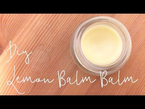 DIY Lemon Balm Balm :)