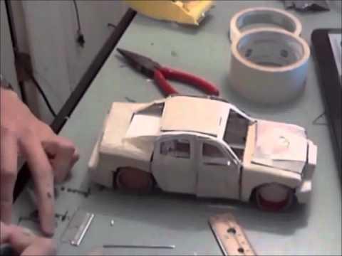 Kağıttan Araba Nasıl Yapılır Araba Hastasi