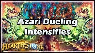 [Hearthstone] Azari Dueling Intensifies