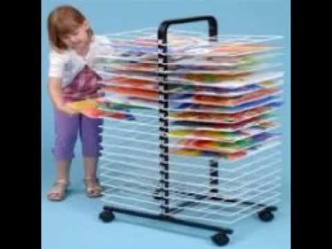 Art Drying Rack