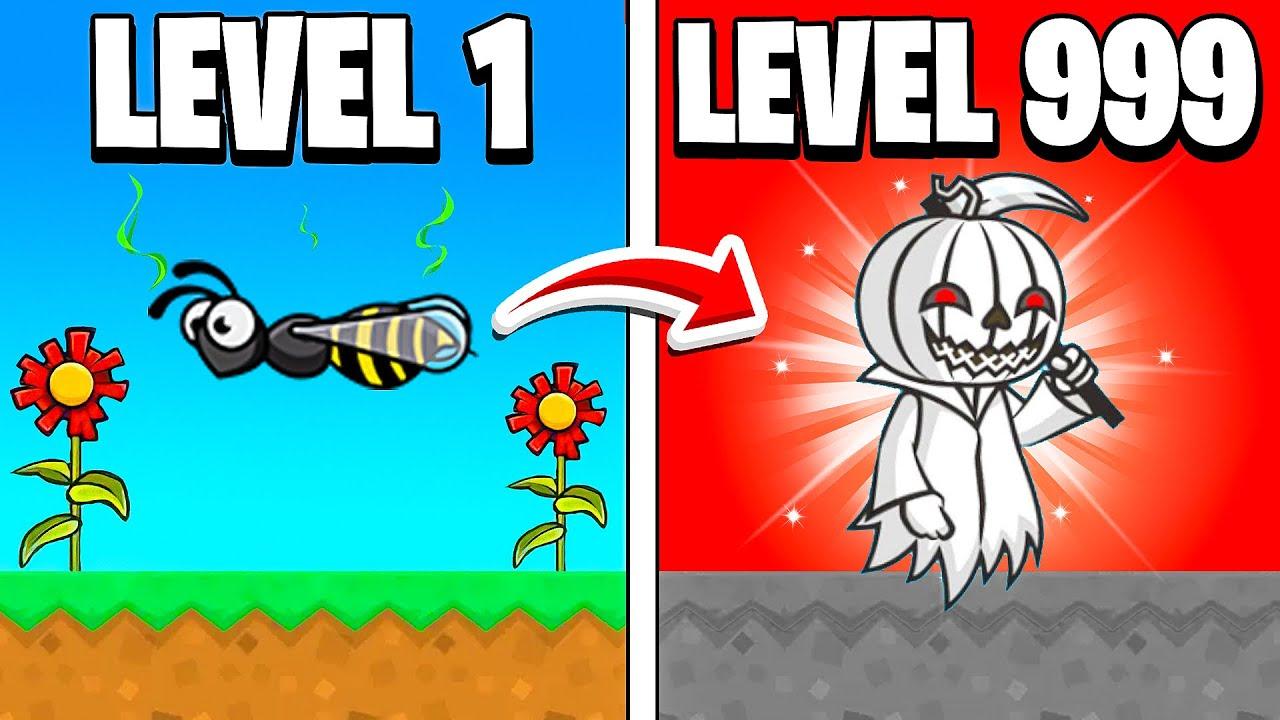 4-Player (LEVEL 999) OP Pumpkin Reaper in FlyOrDie.io