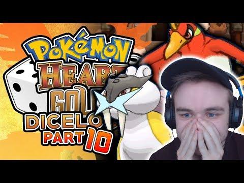 MORE LEGENDARY POKEMON CAUSING PROBLEMS! Pokemon Heart Gold Randomized Dicelocke Part 10