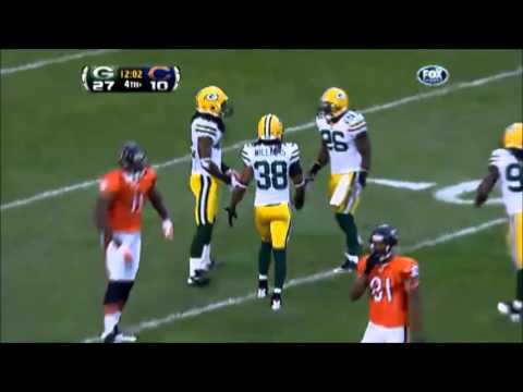 Every interception that #Bears QB Jay Cutler has thrown against the #Packers