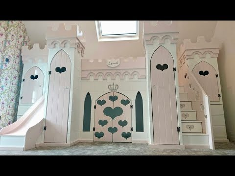 Magical Princess Castle Bed Installation Time Lapse