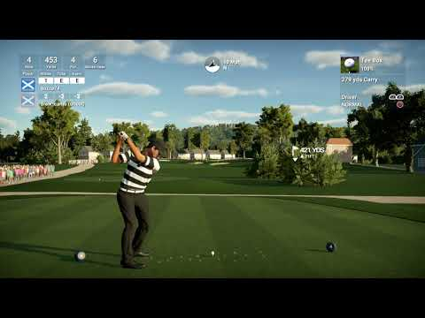 The Golf Club 2 (PS4 Pro): TaylorMade RCR World Tour - John Deere Classic - Round 1