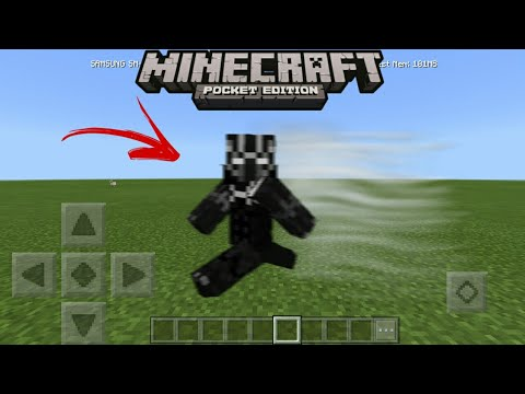 MCPE How To Become Black Panther No Mods! | Command Block Creation