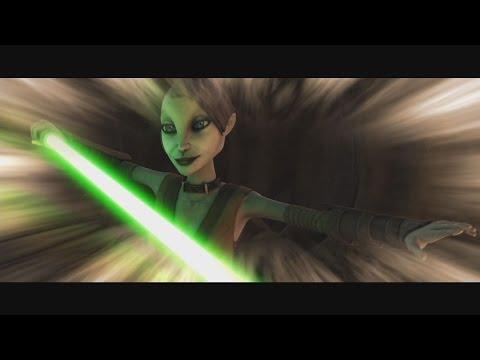 Star Wars: The Clone Wars - Asajj Ventress' memories of Jedi training & Ky Narec's death [1080p]