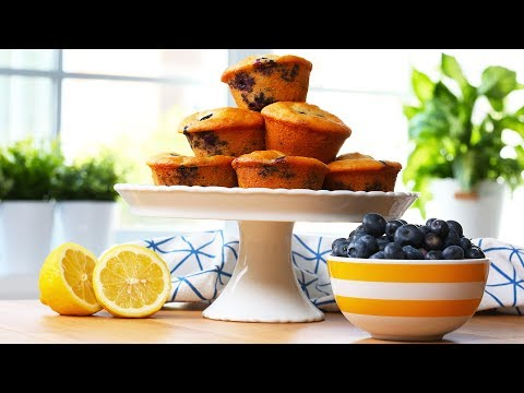 EASY Blueberry Muffins | Tastes of Summer