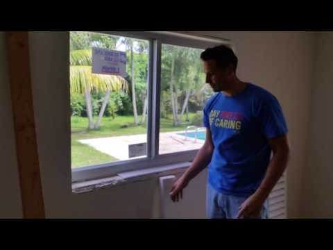 How to Install a marble window sill 1