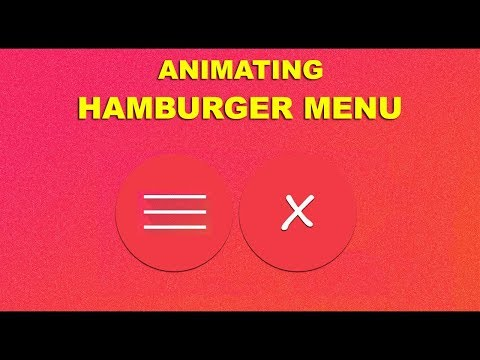Animating close button   Html 5 Css 3 and Javascript