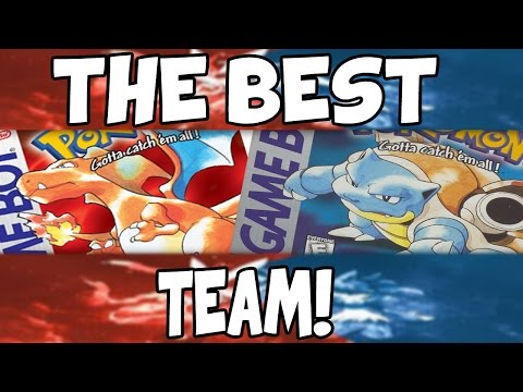 The BEST team for Pokemon Red/Blue!