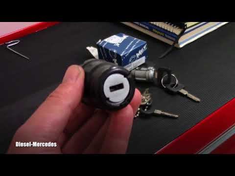 Mercedes W124 Ignition Lock Tumbler Replacement