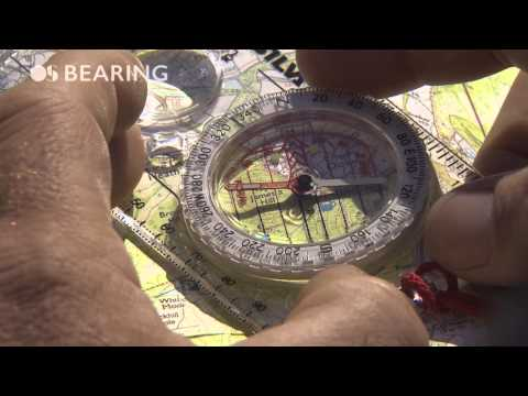 How to take a compass bearing with Steve Backshall and Ordnance Survey