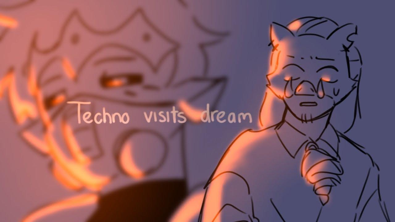 Technoblade Visits Dream [ DreamSMP animatic ]