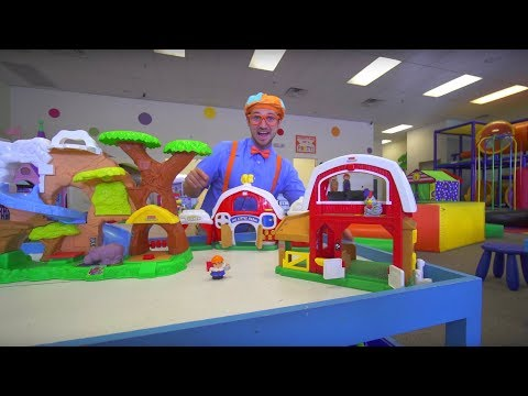 Blippi at the Indoor Play Place   Learning Movements