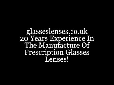 UK new prescription glasses lenses; affordable glasses lenses Glasgow