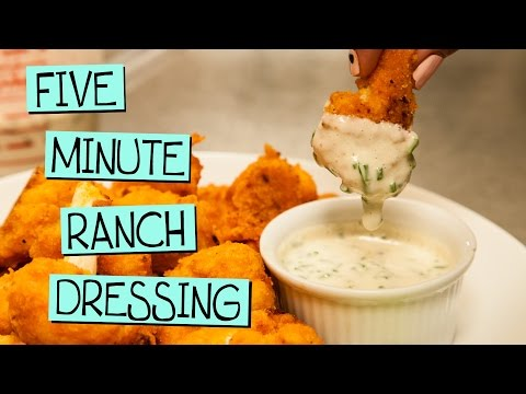 Five Minute Vegan Ranch Dressing