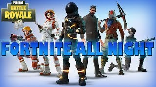 FORTNITE RAP/SONG ► Fortnite All Night - Ninethie & Connor Rapper -  getplaypk
