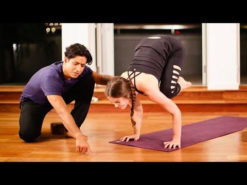 A Yoga Sequence to Build Strength for Arm Balances