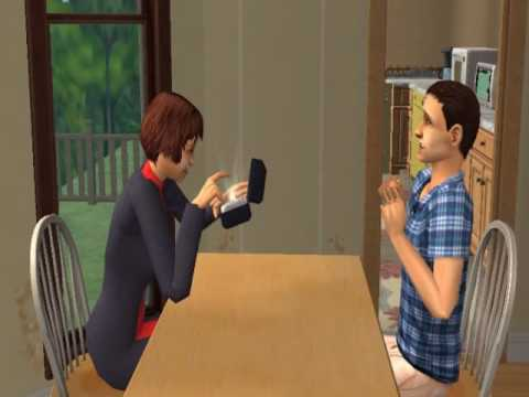My Sims 2  private Engagement