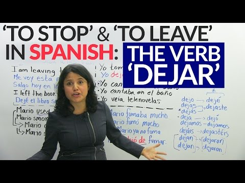How to use the verb