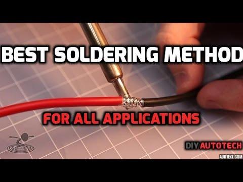 Best Soldering Technique - How To Solder in HD