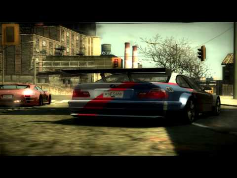 Need For Speed Most Wanted (2005) - BMW M3 GTR E46 Top Speed (HD)
