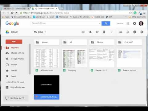 How to Share a PPT Using Google Drive