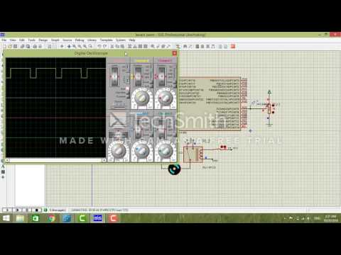 DC motor speed control using PWM with atmega 168