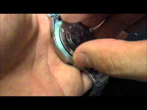 how to open the watches to change their battery