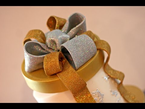 How to make a Sparkly, Loopy Bow!