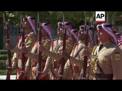 Australian Governor-General meets Jordan's King