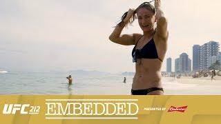 ufc 212 embedded vlog series episode 2