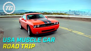 USA Muscle Car Road Trip Part 1: Drag Racing in Reno - Top Gear - BBC