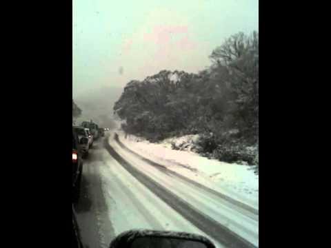 Snowing Australia
