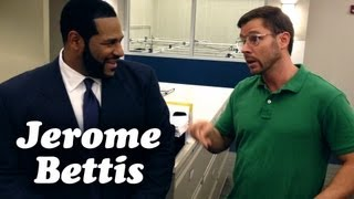 STEELERS JEROME BETTIS MEETS PITTSBURGH DAD