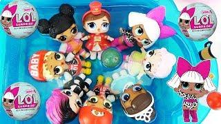 Download Куклы ЛОЛ мечтают Приключение в бассейне Мультики с игрушками для девочек L.O.L. Surprise Baby Toys Video