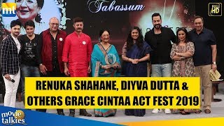 Renuka Shahane, Divya Dutta & Other Celebs At The CINTAA Act Fest 2019 I Panel Discussion