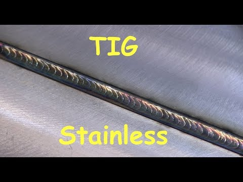 Stainless Steel Welding Tips - TIG Welding