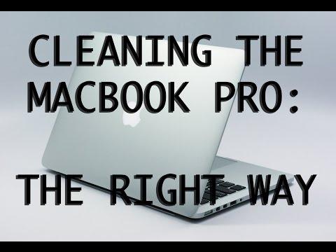 How to clean your macbook pro Retina