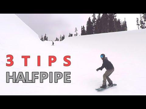 3 Tips for Beginner Halfpipe Snowboarding