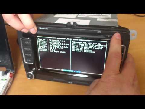 RNS 510 Manager (MRM) - PIN Code Setting