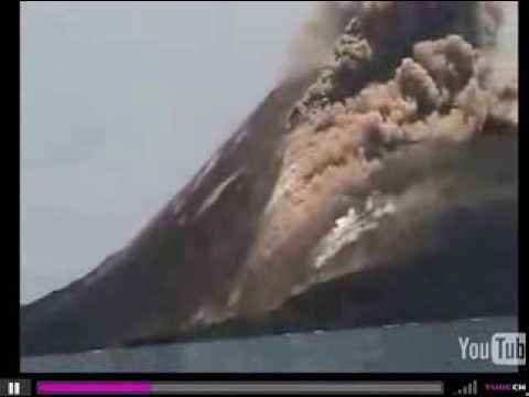 Composite Volcano Eruption