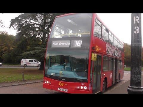 Full Route Visual. Route 161: North Greenwich Bus Station - Chislehurst,War Memorial (PN09 EMF)(882)
