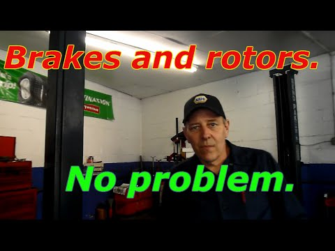 How to replace front brakes and rotors on a 2003 Honda Accord
