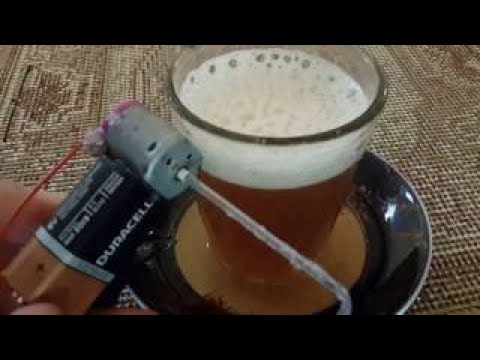 How to make Electric Coffee Mixer // Concrete Mixer