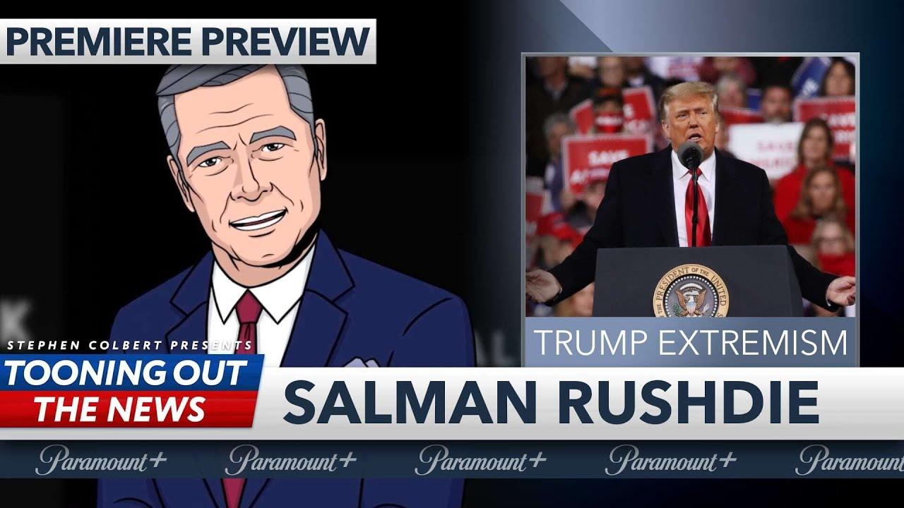 Smart Talk Tonight Premiere: Salman Rushdie on the threat of Trumpism