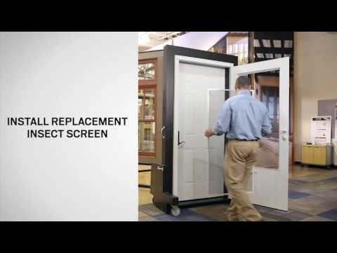 Insect Screen Replacement for EMCO® Dual Vent / Triple-Track Storm Doors