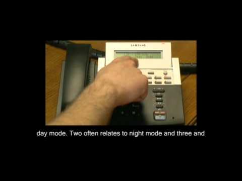 Changing Call Barring Settings on Samsung Telephone Systems