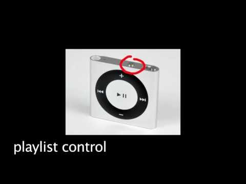 iPod Shuffle 4th Gen Voice Over Playlist Control